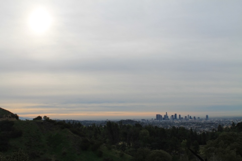 LA early morning from Griffith Park