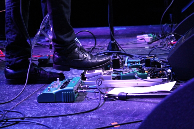 Azad's pedal board