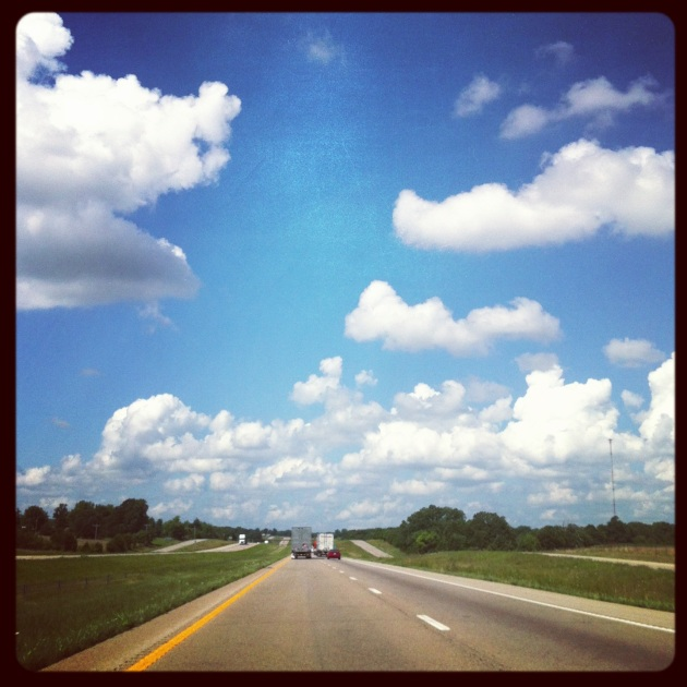 Somewhere in Missouri, en route to Tulsa