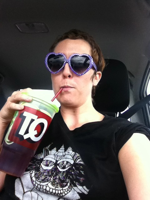 This tour brought to you by vats of Quik Trip Iced Tea
