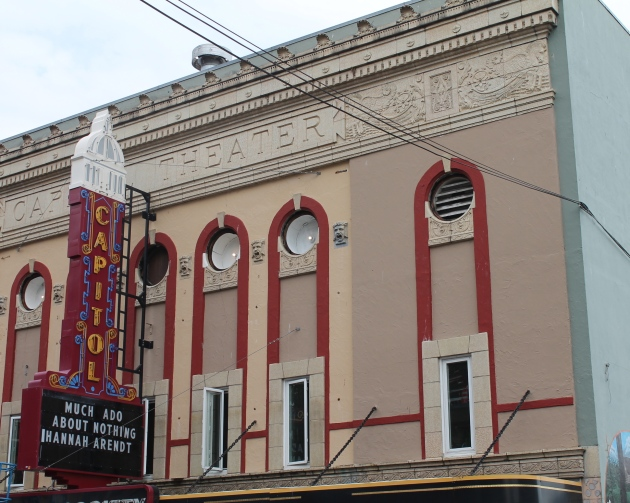 Capitol Theater, Olympia, Washington, where indie rock history was made