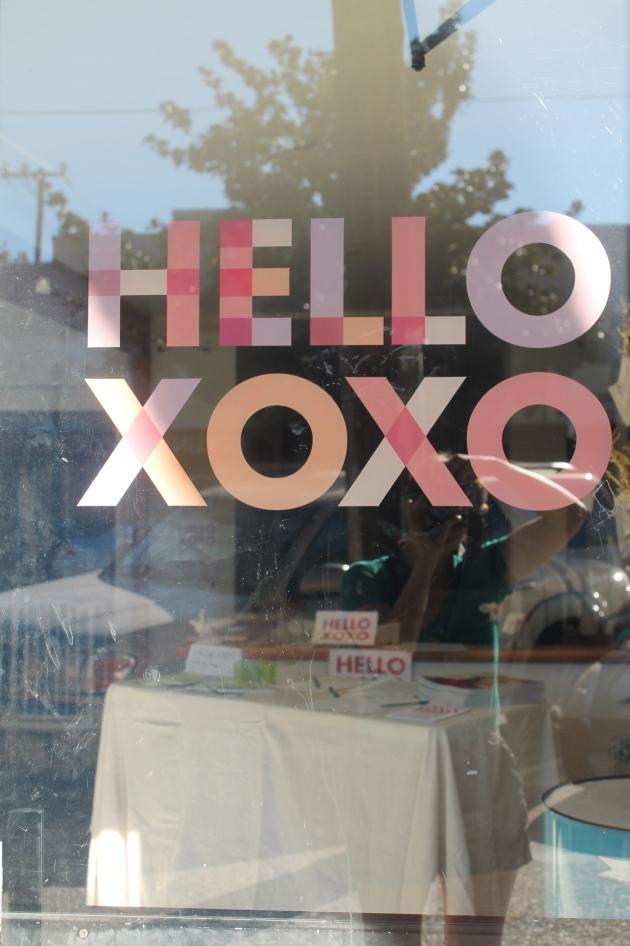 Hello XOXO - a nonprofit fostering women's creative community in Sacramento, CA