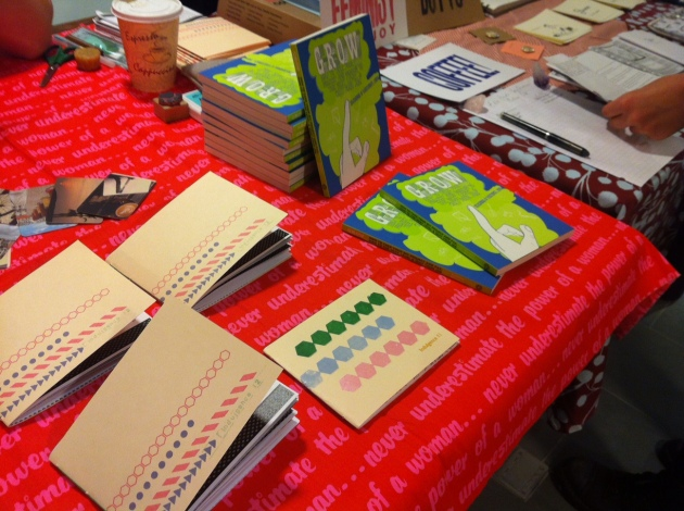 Indulgence numbers 11 & 12 with Grow at Brooklyn Zine Fest