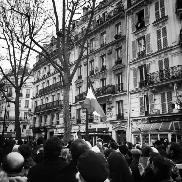 Place de la Republique 1/11/2015 by Aurelia Bonfair