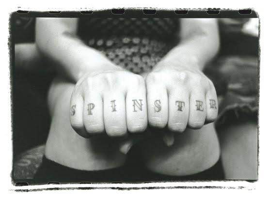 spinster tattoo