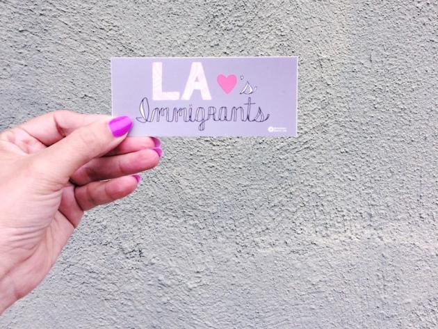 activist sticker LA