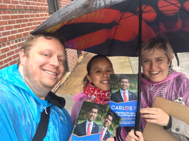 Canvassing for Carlos